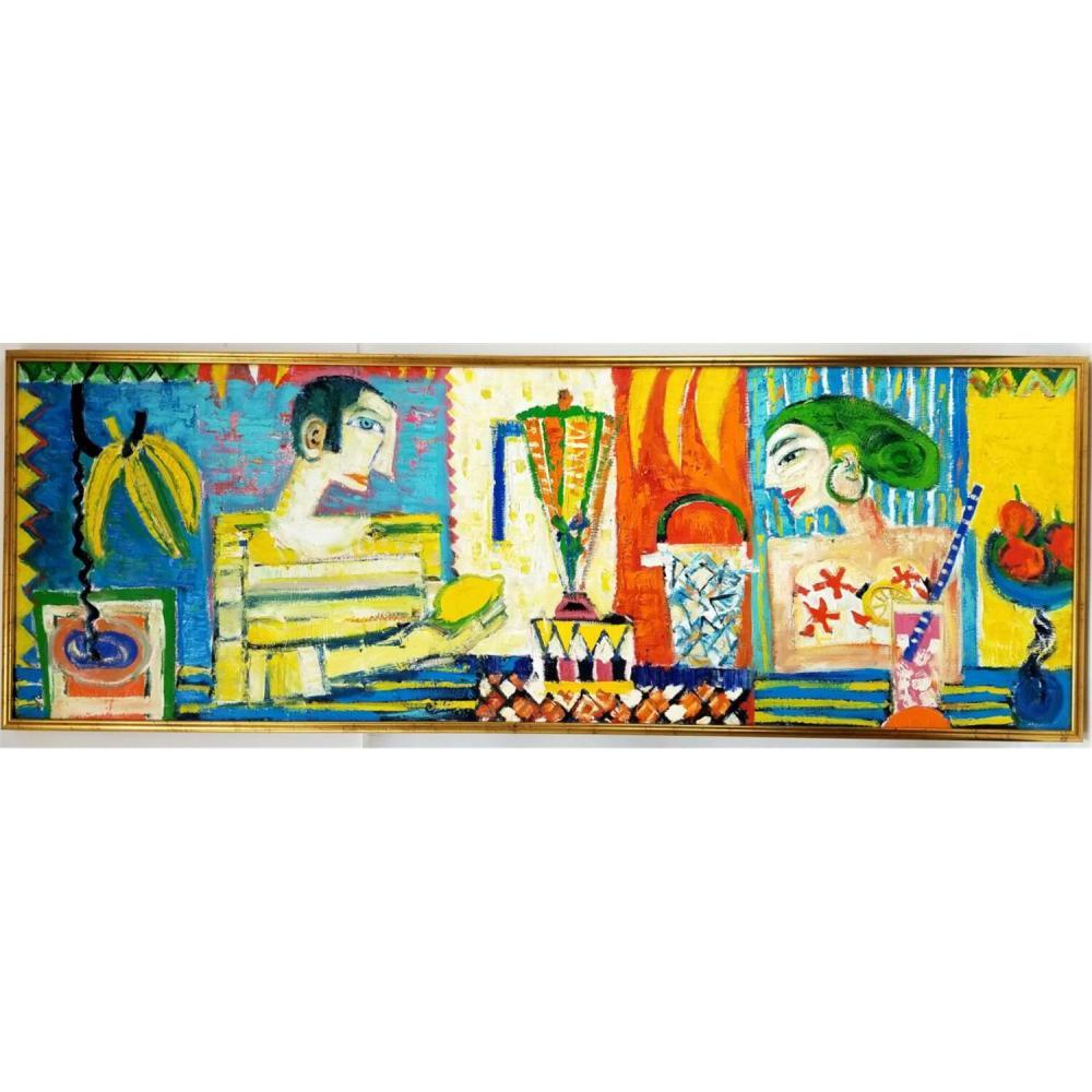 Painting Oil on Canvas by Dariusz Pala (Born 1967)