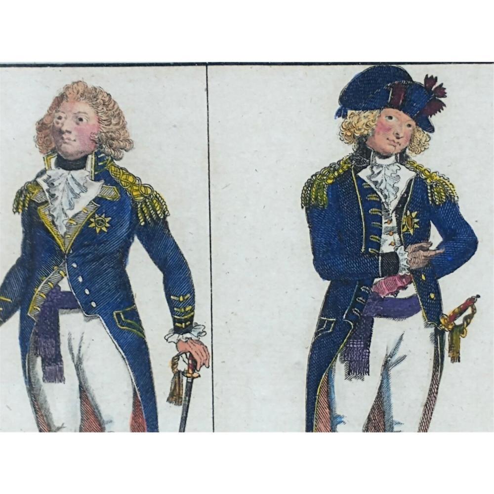 6 Antique 18th C Alexander Hogg English Prints.