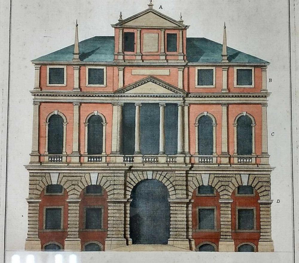 4 Antique Engravings After Giorgio Fossati.