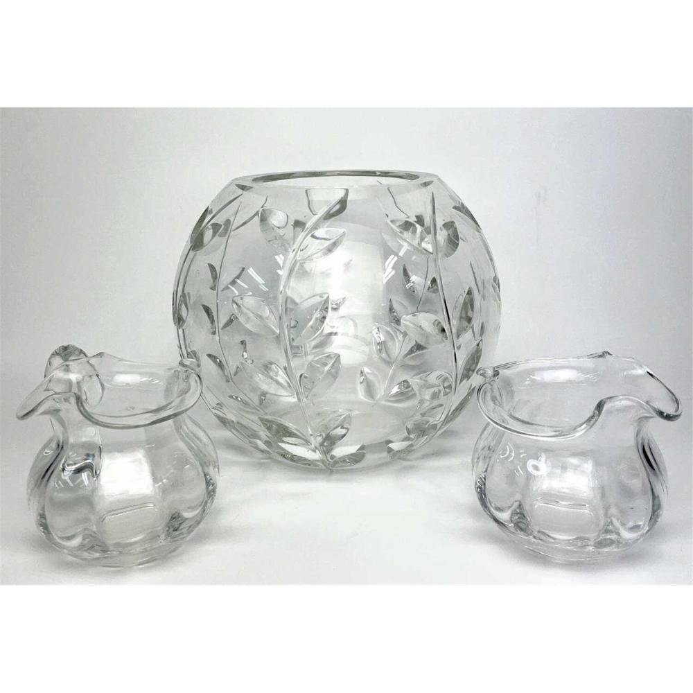 3 Pieces Art Glass Items Made for Tiffany & Co.