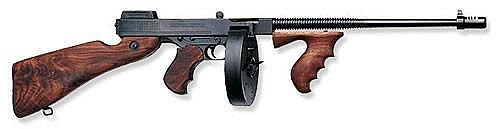 AUTO-ORDNANCE - THOMPSON 1927A-1 DELUXE LIGHTWEIGHT 45 ACP-L