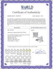 Lot 4166: 0.23 CTW Diamond Square Cluster Earrings 14KT White Gold - REF-19W4K