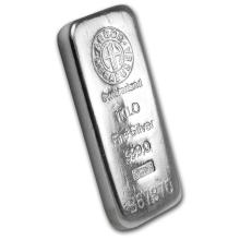 Genuine 1 kilo 0.999 Fine Silver Bar - Argor/Heraeus
