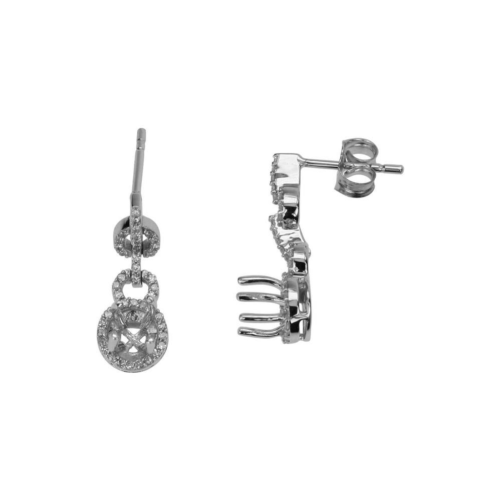 0.26 CTW Diamond Earrings 14K Yellow Gold - REF-24X8R