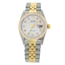 Rolex Pre-owned 36mm Mens Powder Blue Two Tone