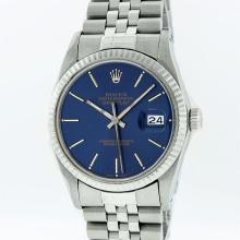Rolex Men's Stainless Steel Dial Pre-owned