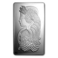 Genuine 250 gram Fine Silver Bar - PAMP Suisse Fortuna