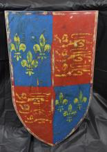 Shield Decorated with the English Royal Coat of Arms (1406 -1603)