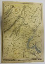 Rare Civil War Map of