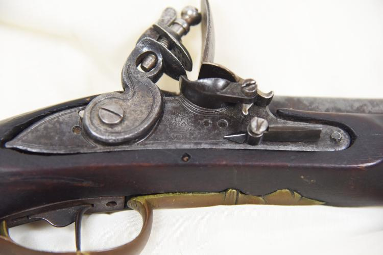 Revolutionary War Brown Bess Flintlock Musket, Long Land Pat