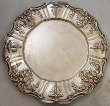 Historic Reed & Barton Sterling Silver Plate, Francis First c. 1907