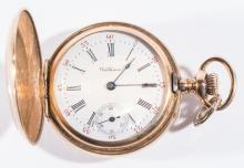 14K Gold Waltham Pocket Watch, c. 1899