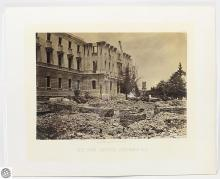 George N. Barnard Original Civil War Albumen Photograph – The New Capital, Columbia, S.C. – Photographic Views Of Sherman's Campaign