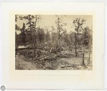 George N. Barnard Original Civil War Albumen Photograph – Battle Field of Atlanta GA – Photographic Views Of Sherman's Campaign