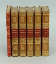 19th Century Leather Books from the Personal Library of Tom Clancy