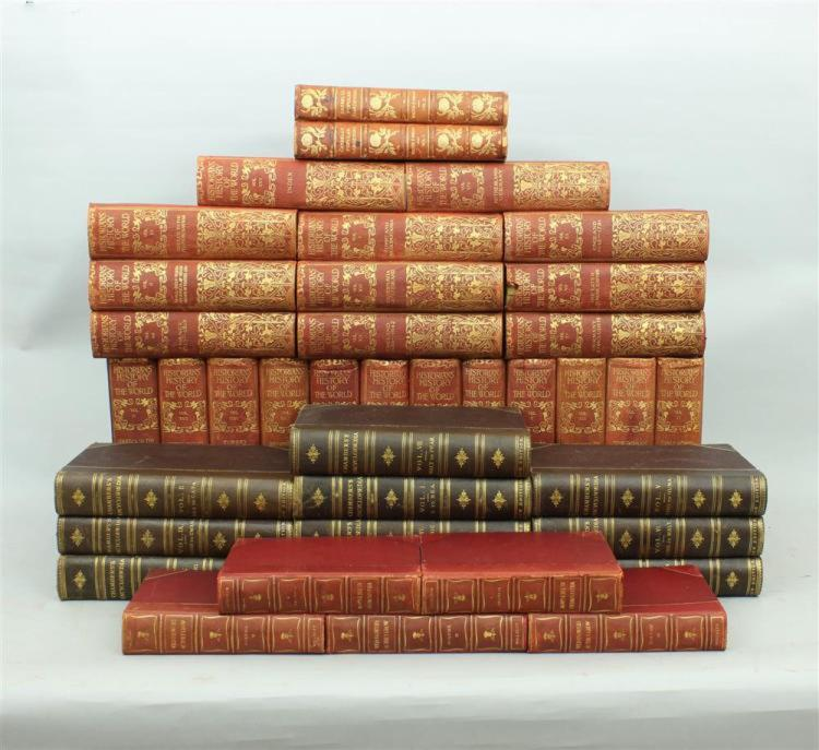4 Important Sets Of Leather Books From The Personal Library