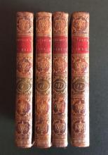Horace Walpole Royal Noble Authors England Scotland.. Rare 5 Books Antique 1806 Manuscripts
