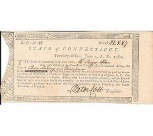 Remarkable Revolutionary War Pay Voucher of Major Roger Alden, Survivor of 1777 winter at Valley Forge