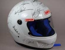 Signed Racing Helmet & Visor – Indianapolis 500 All-Time Greats