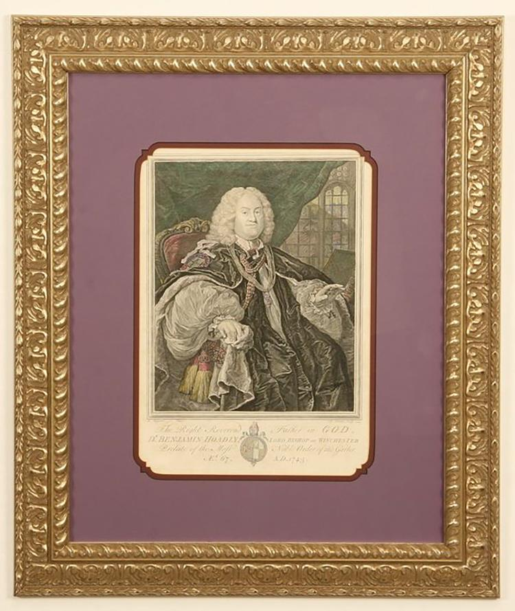 an analysis of the topic of the 18th century bishop hoadly Benjamin hoadly (14 november 1676 – 17 april 1761) was an english clergyman, who was successively bishop of bangor, of hereford, of salisbury, and finally of.