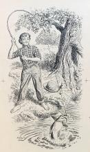 Rare Wilbur G. Adam Original Drawing / Illustration Entitled THE PERSISTENCE OF WILL