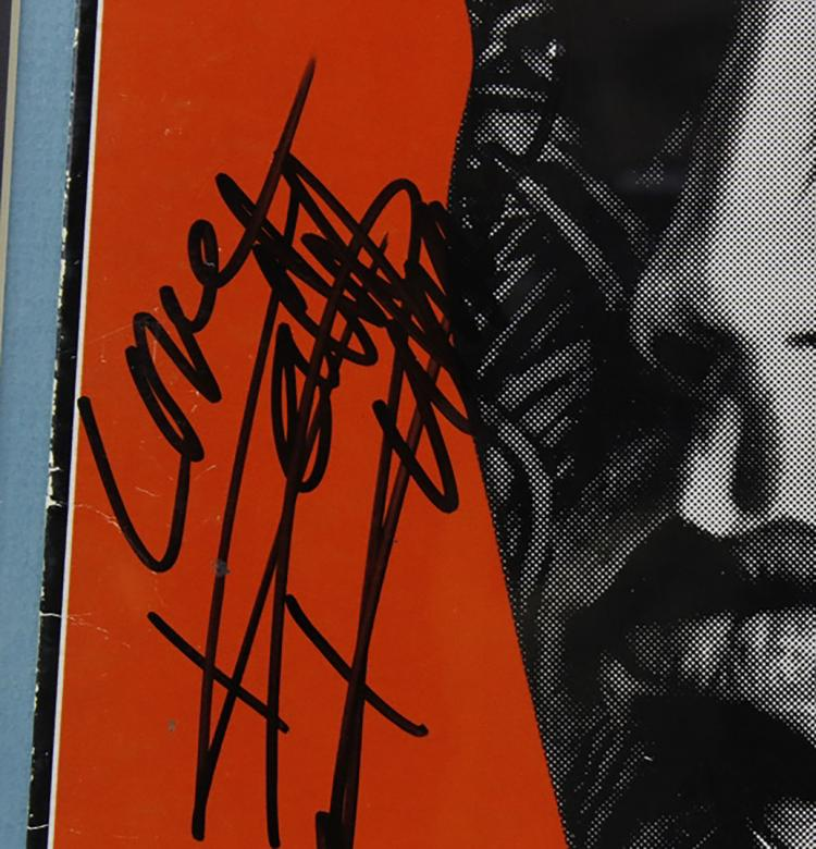 Rolling Stones Autographed Tattoo You Album Cover