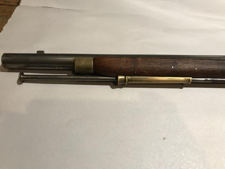 Revolutionary War Brown Bess Flintlock Musket - Tower Short
