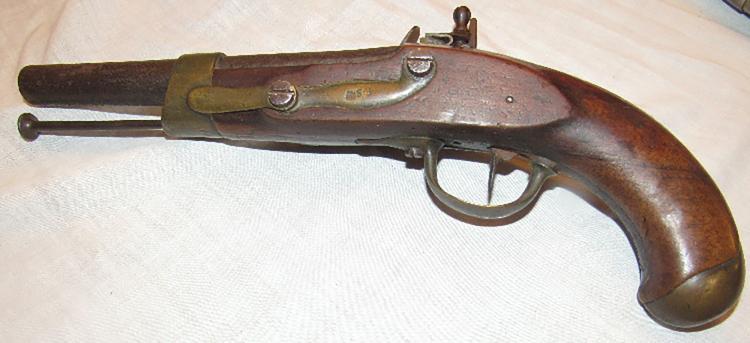 Antique Original French Revolutionary War Flintlock Pistol