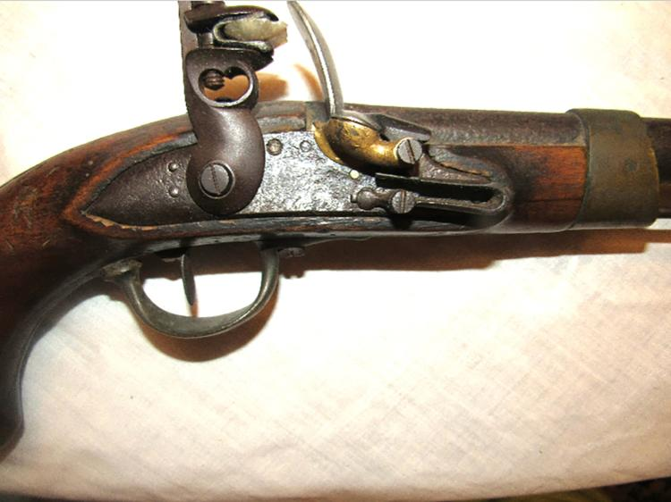 Antique Original French Revolutionary War Flintlock Pistol