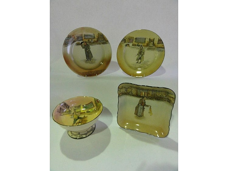 A selection of Royal Doulton Dickens ware