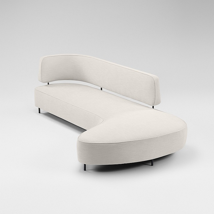 Taichiro Nakai rare and important sofa