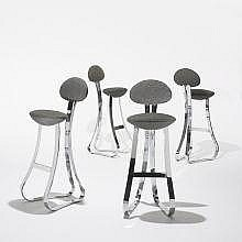 Giovanni Offredi bar stools, set of four