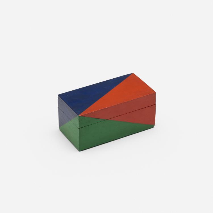 Leon Polk Smith, Untitled (Box)