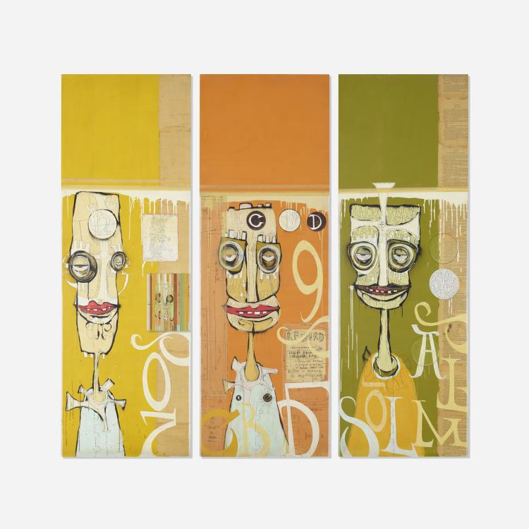 Phil Frost, Untitled (triptych)