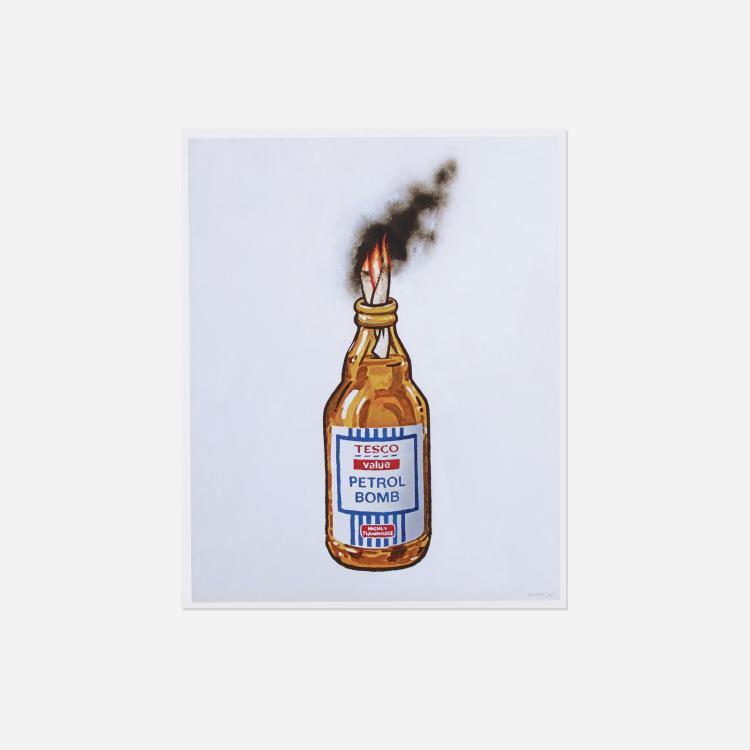 Banksy, Tesco Value Petrol Bomb