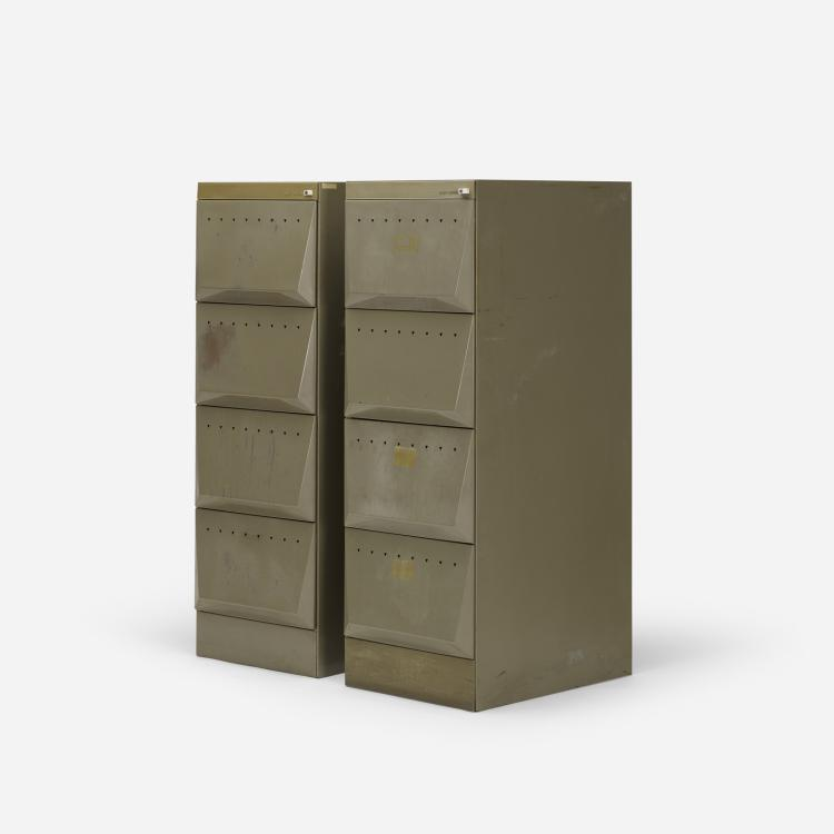 Olivetti, Synthesis file cabinets model C3, pair
