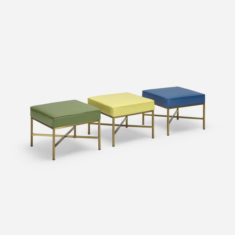 Modern, stools, set of three