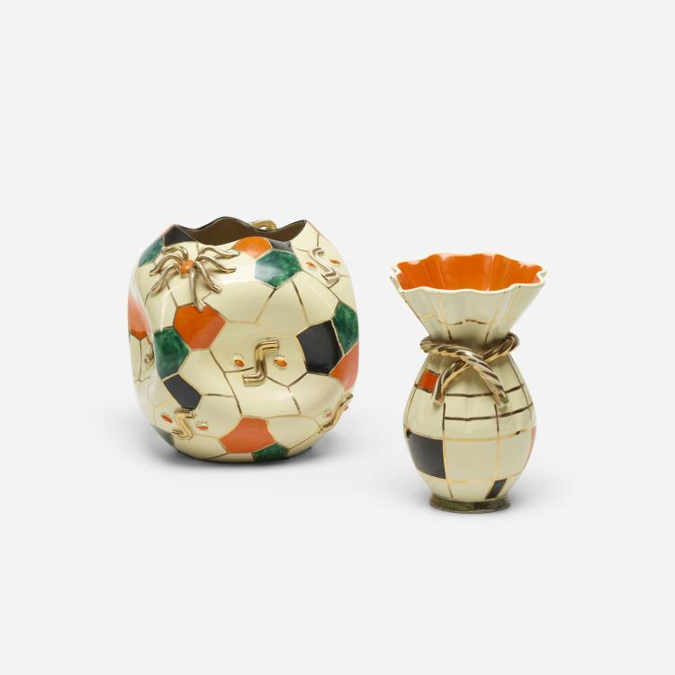 Emilio Pucci, vessels, set of two