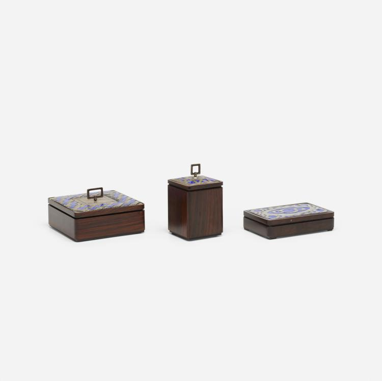 Ottaviani, boxes, set of three