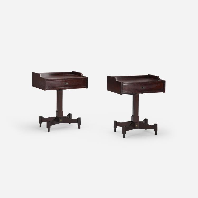 Claudio Salocchi, nightstands, pair