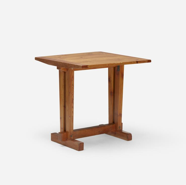 Charlotte Perriand, table from Les Arcs, Savoie