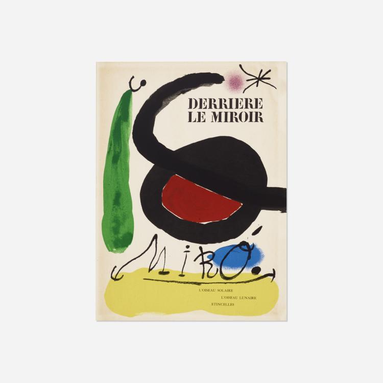 Joan Miro, Derriere Le Miroir: L'Oiseau Solaire, L'Oiseau Lunaire - Etincelles