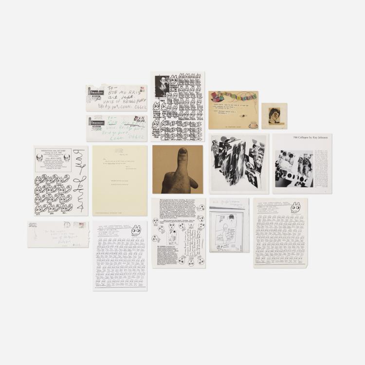Ray Johnson, collection of art and ephemera