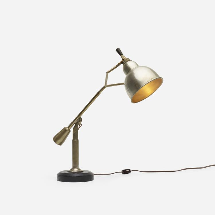 Edouard-Wilfred Buquet, table lamp