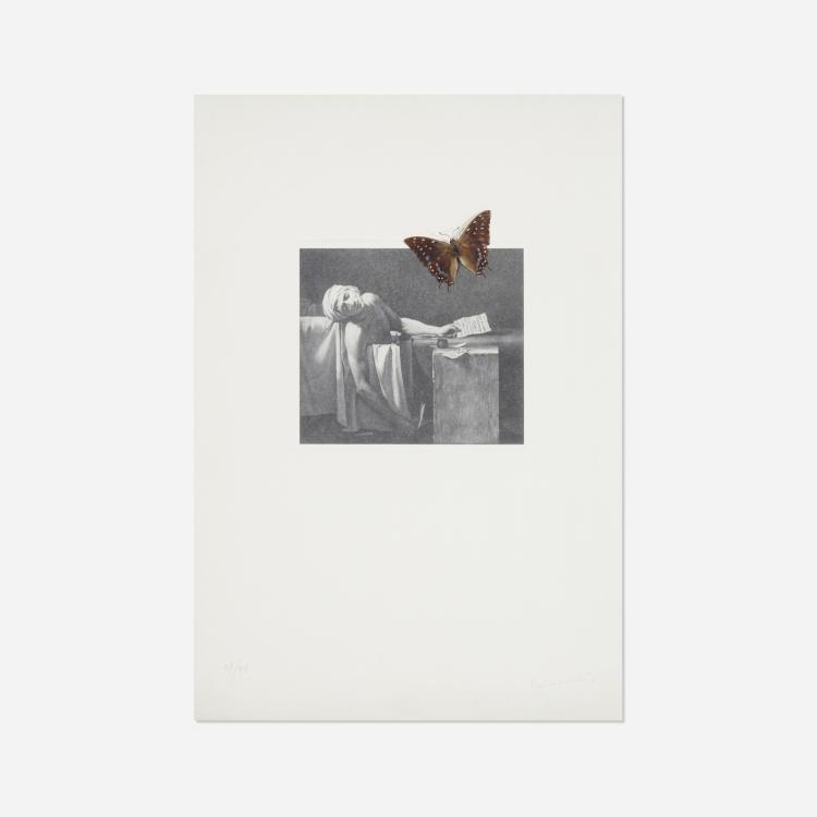Jannis Kounellis, Death of Marat