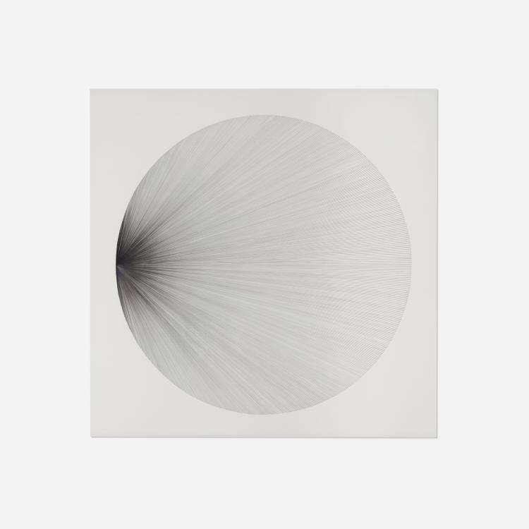 Tricia Rumboltz, 880 Lines, 1 Focal Point, 1 Circle (B)