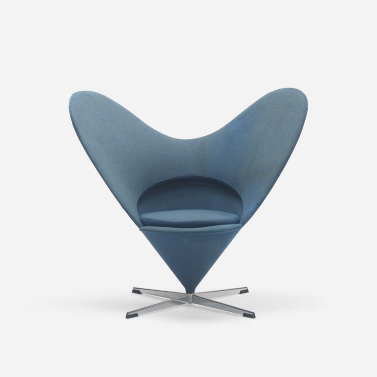 Verner Panton, Heart Cone chair