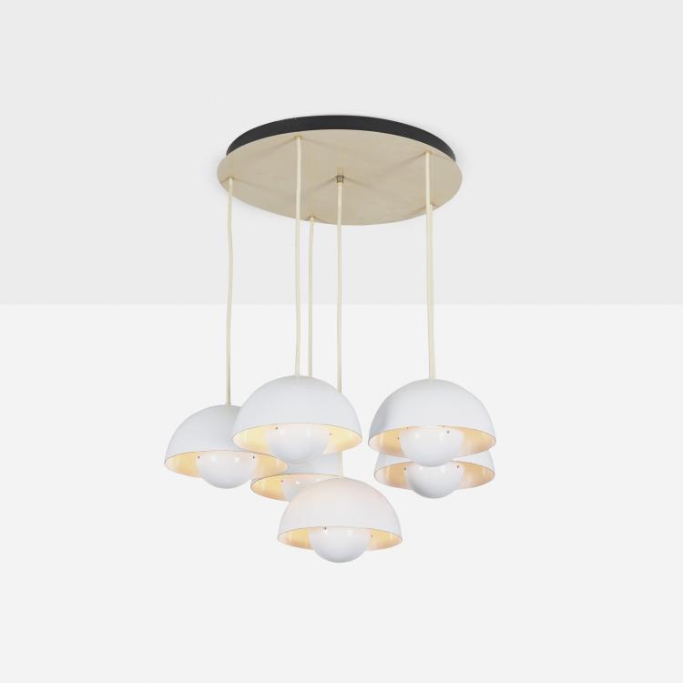 Verner Panton, Flowerpot chandelier