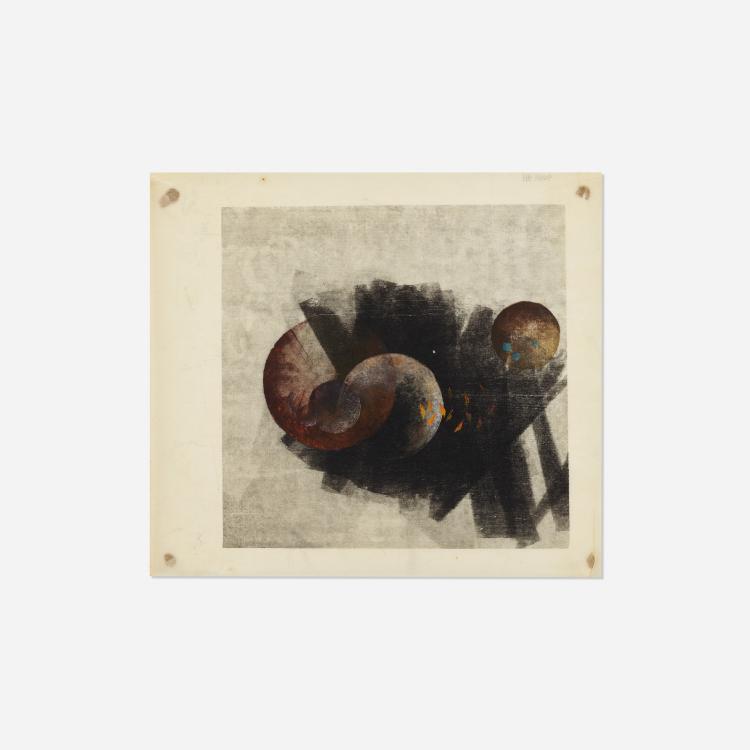 Harry Bertoia, Untitled (Monoprint)