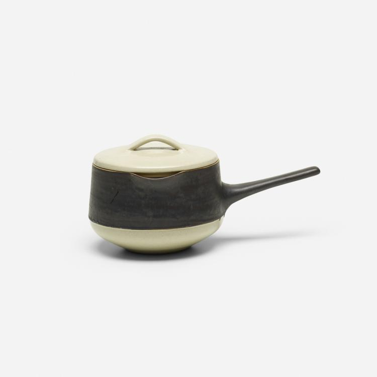 Lucy Rie and Hans Coper, lidded pot